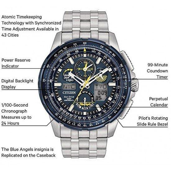 Часы пилота Citizen Skyhawk Blue Angels