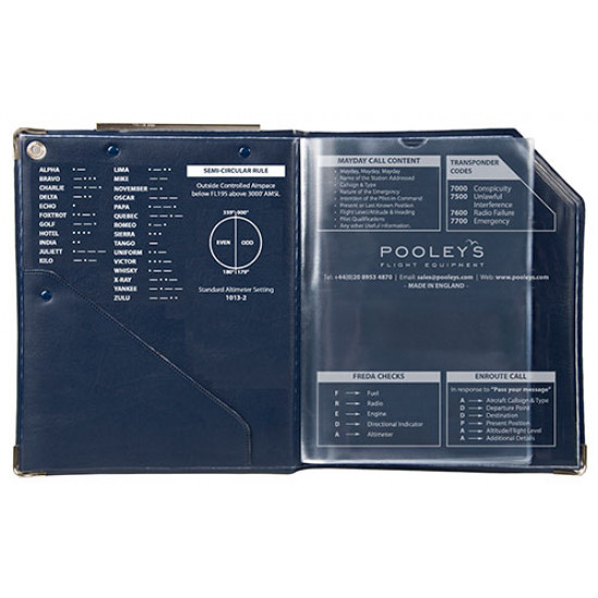 Наколенный планшет летчика Pooleys CB-3