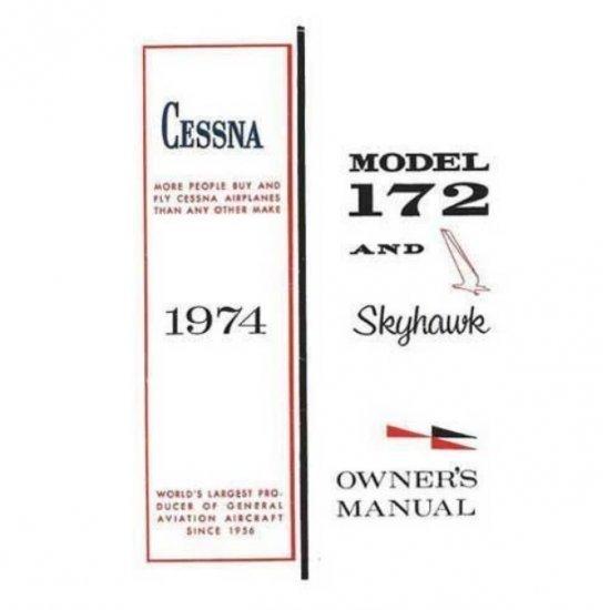 Руководство CESSNA 172M & SKYHAWK 1975 OWNERS MANUAL