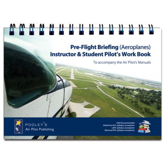 Книга авиационная Pooleys Pre-Flight Briefing A Pilots Work Book