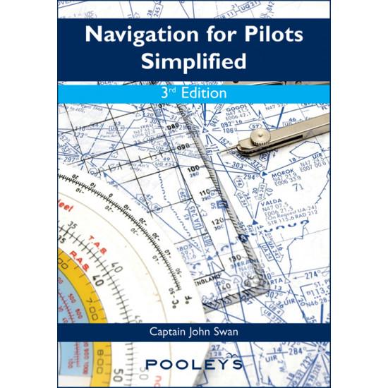 Книга авиационная Pooleys Navigation for Pilots Simplified, 3rd Edition - John Swan