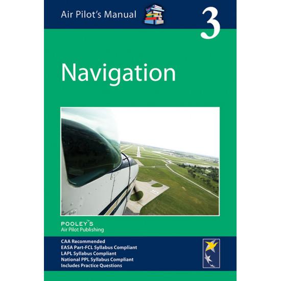 Книга авиационная Pooleys Air Pilot's Manual Volume 3 Air Navigation