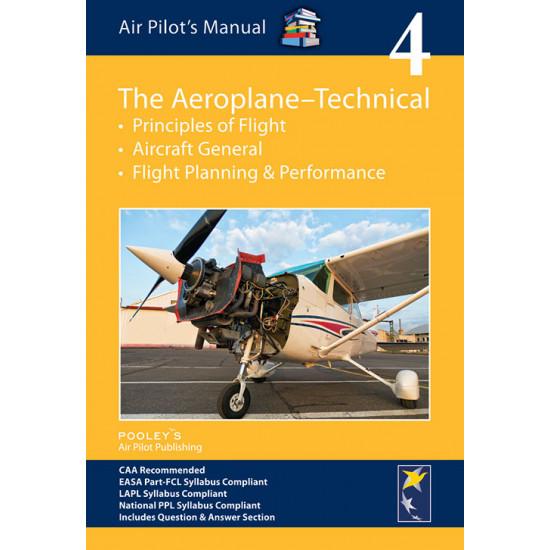 Книга авиационная Pooleys Air Pilot's Manual Volume 4 The Aeroplane Technical