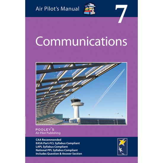 Книга авиационная Pooleys Air Pilot's Manual Volume 7 Communications