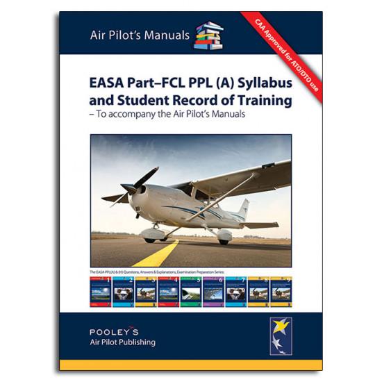 Книга авиационная Pooleys EASA Part-FCL PPL (A) Syllabus and Student Record of Training