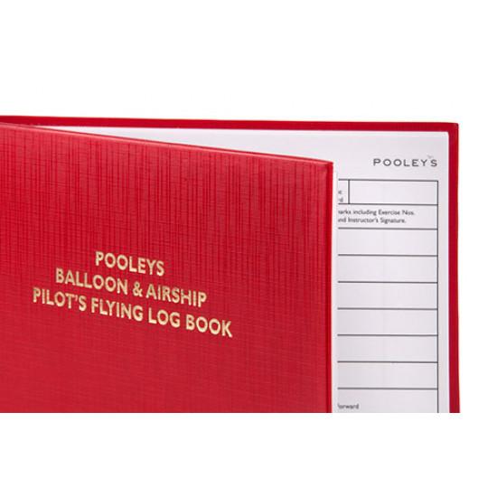 Книжка лётная Pooleys Balloon & Airship Pilots Log Book