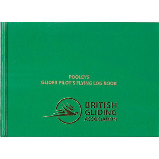 Книжка лётная Pooleys Glider Pilots Log Book