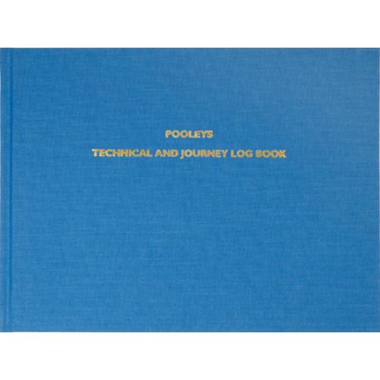 Книжка лётная Pooleys Technical & Journey Log Book