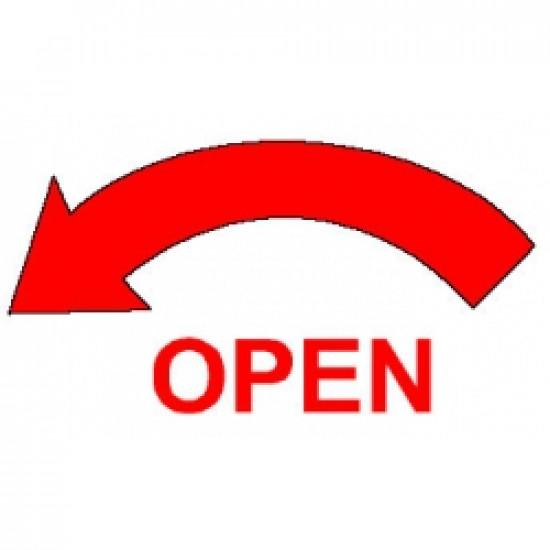 Наклейка авиационная OPEN ARROW DECAL COUNTER CLOCK