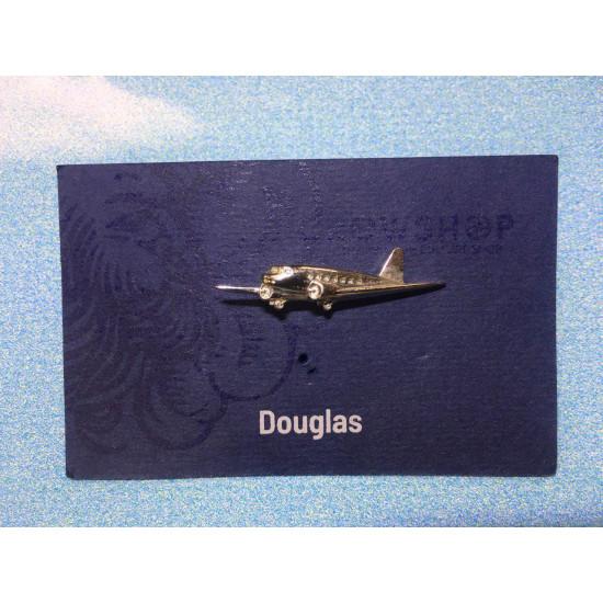 Значок авиационный Douglas 32х9х3