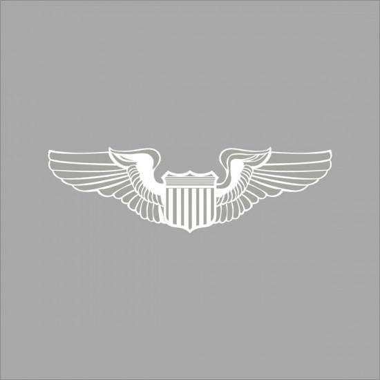 Наклейка на автомобиль авиационная Pilot Wings Window Decal